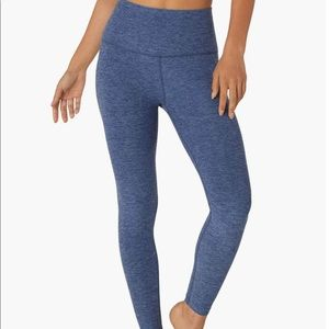 Beyond Yoga Midi Legging in Serene Blue-Hazy Blue